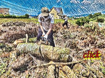 薪の調達は困難です